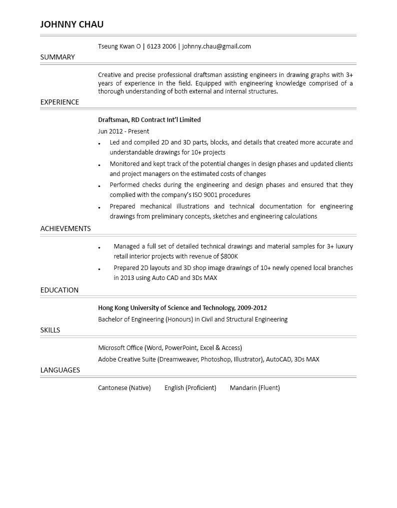 2 Structural Engineer Resume Samples  Residential