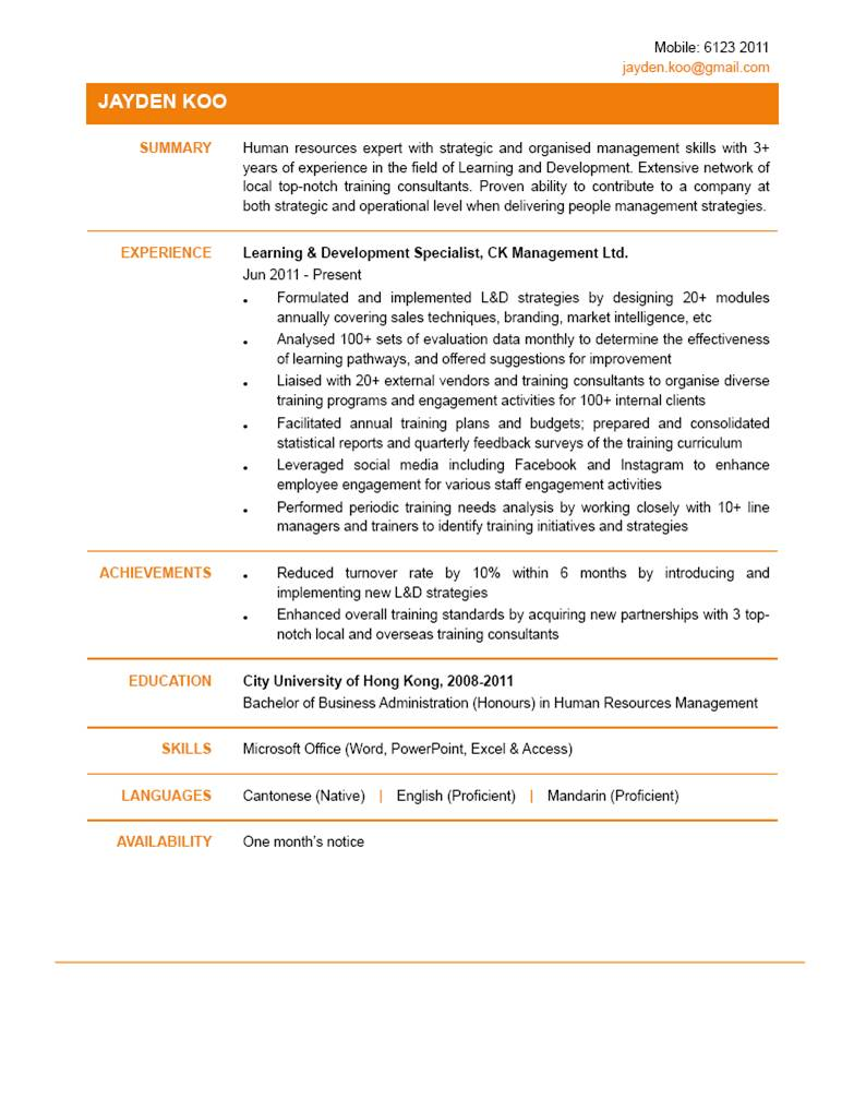 learning development specialist cv powered by learning development specialist cv